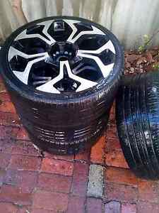 """20"""" Rims and Tyres South Perth South Perth Area Preview"""