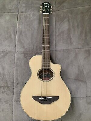 Yamaha APXT2 3/4 Thinline Acoustic-Electric Cutaway Guitar Natural - USED