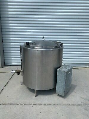 Groen Ee-40 40 Gallon Jacketed Steam Kettle Electric 230 V 3 Phase