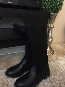 Brand new tall black boots new without tag