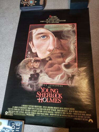 Young Sherlock Holmes (1985) Movie Poster, Original, SS, Unused, Rolled