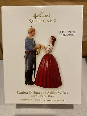 Hallmark 2008 Scarlett O'Hara and Ashley Wilkes Gone With the Wind Ornament New