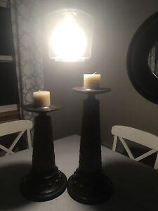 Larger candle holders