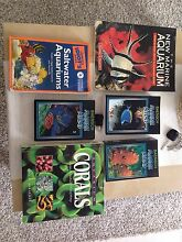 Marine/saltwater aquarium/fish tank books (priced individually) Clarkson Wanneroo Area Preview