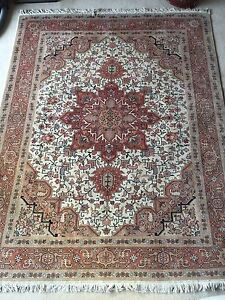 Silk Wool Persian Rug / Carpet - Brand New Condition Woollahra Eastern Suburbs Preview
