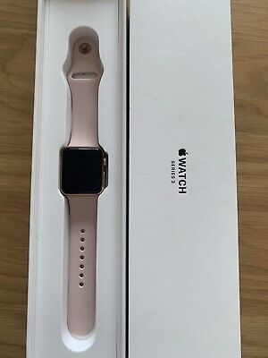 Apple Watch Series 3 38mm Rose Gold Aluminium Case  Pink Sand Sport Band (GPS)