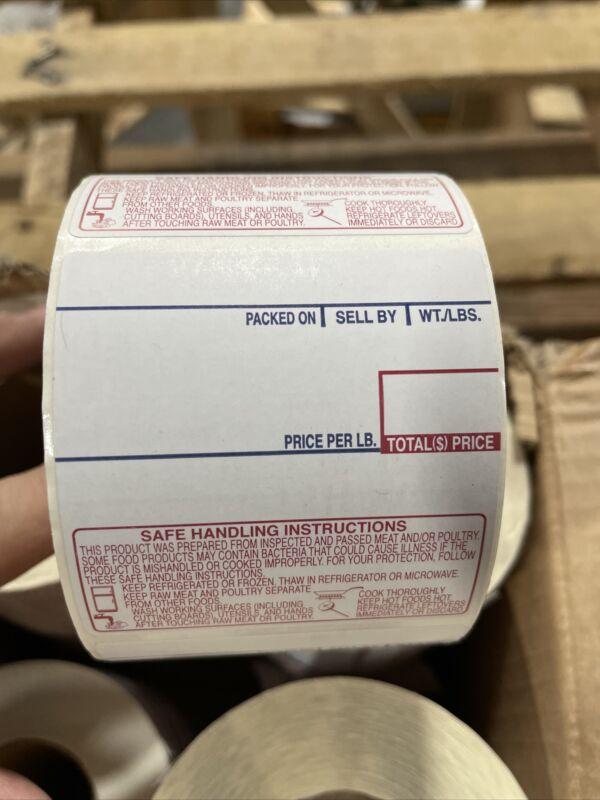 Labels for LPN1000n Printer *Lot of 12 rolls*