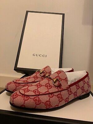 Gucci Jordaan GG cavas loafer