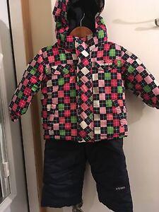 24 months winter jacket and snow pants    Snowsuit