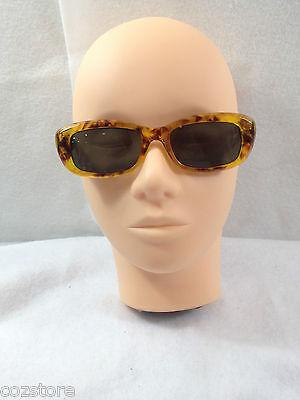Panama Jack Damen Sonnenbrille Braunes Plastik Rahmen Grau Gläser