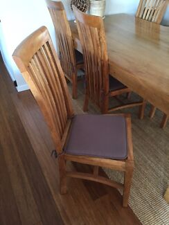 Solid Timber Dining Chairs For Sale