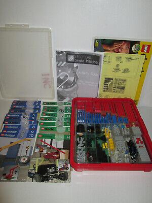 Lego Dacta 9630 & 9615 Simple Mechanisms Set & Booklets1997 100% Complete Motor#