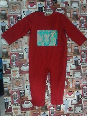 Lotto 179 costume carnevale TELETABIS ROSSO 3-5 - Lotto Kostüm