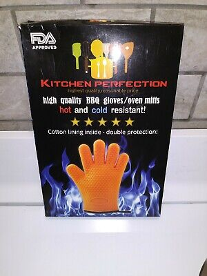 High Quality BBQ Gloves Oven Mitts Hot And Cold