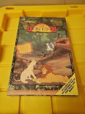 Disney's THE LION KING Colorforms Play Set Simba & His Friends 1994 NIB