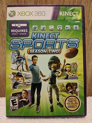 Kinect Sports: Season Two  ~ (Microsoft Xbox 360, 2011) ~  Complete With Manual for sale  Shipping to Nigeria