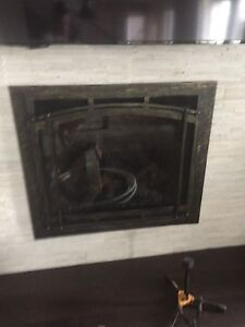 Fire place enclosure