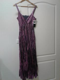 Rockmans Dress Purple Size 16 Brand New RRP $89.95