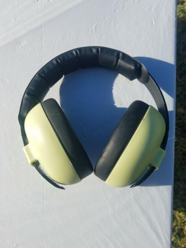 Baby Banz Ear Protection Earmuffs Headphones green