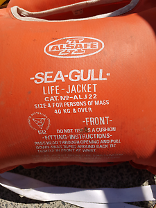 Sea gull life jackets Shelley Canning Area Preview