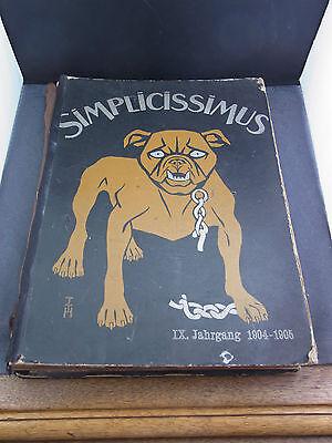 Simplicismus IX.Jahrgang 1904-1905