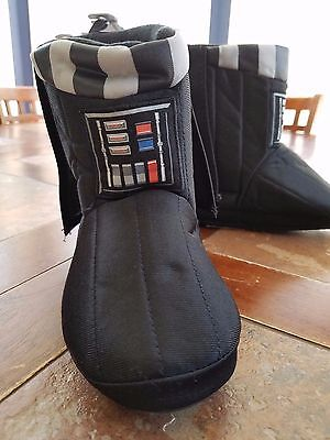 Disney Store Darth Vader - Star Wars Deluxe Slippers for Kids Size 11