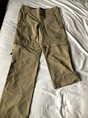 North Face Exploration Convertible Trousers Size 30 Reg