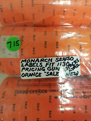 Monarch Senso Labels Fits 1130 Pricing Gun Orange Sale Labels  715