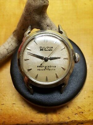 Bulova Watch 23 jewels, late 50's, self winding, six adjustments, waterproof