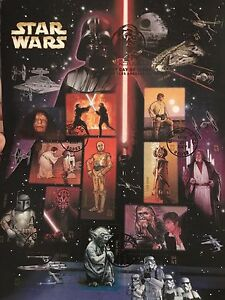 STAR WARS stamp collection, Mint Condition