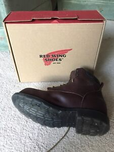 "Red Wing Supersole 6"" Steel Toe Work Boot Size 12 EEE"