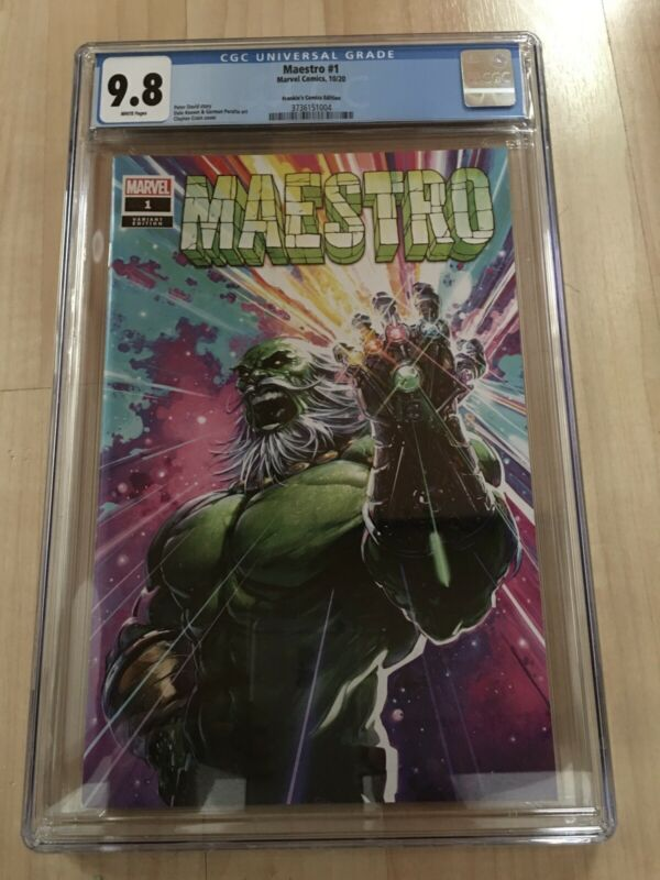 Maestro #1 Clayton Crain Trade Dress CGC 9.8 Venom 7 Infinity Homage