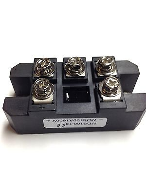 Bridge Rectifier 3ph 100a 1600v Mds100a Diode 3 Phase 100 Amp 1600 Volt 1pc