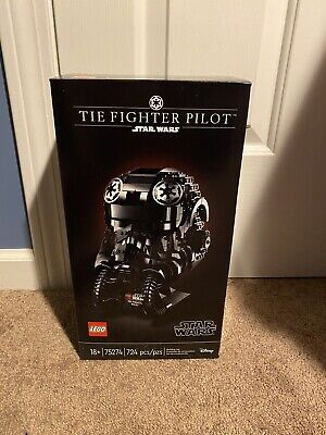 Lego Star Wars: TIE Fighter Pilot Helmet Bust (75274) Brand New Sealed SHIPS NOW