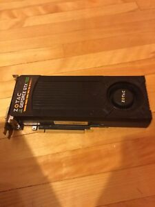 Carte graphique Nvidia GeFore GTX 760 2g