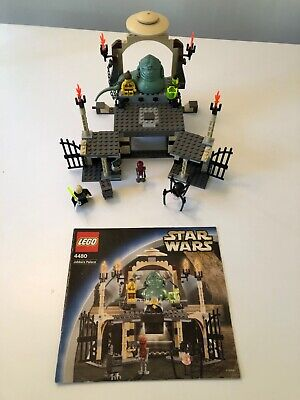 Lego Star Wars Jabba's Palace set 4480 complete w/ manual & minifigures