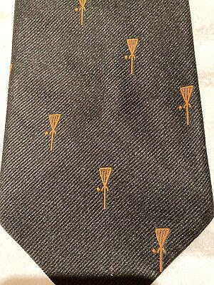 1960s – 70s Men's Ties | Skinny Ties, Slim Ties Vintage LACROSSE Motif Tie ~ Ashleigh Princeton ~ Prep trad old school lax 1960s $24.50 AT vintagedancer.com