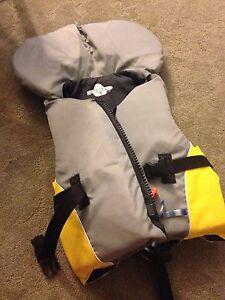 Fluid youth life jacket