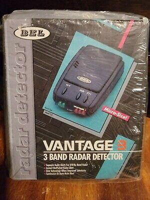 BEL Vantage 3 Micro size 3 Band Radar Detector