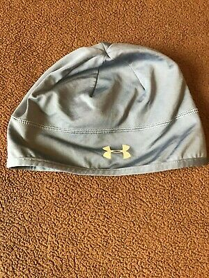 UNDER ARMOUR Womens Beanie Hat Light Blue
