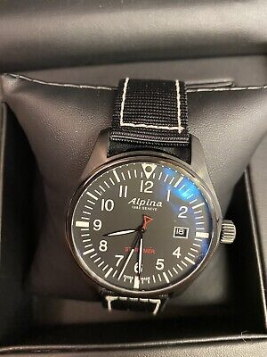 Alpina Watch Geneve Startimer Pilot PVD 240B4FBS6