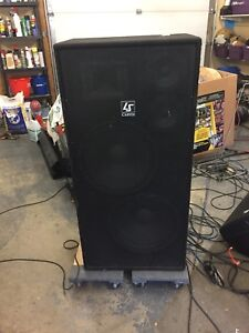 Carvin 900 Watt PA speakers!!! (please read)