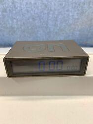Lexon Flip Clock -12-24 Hour Display - battery powered Alarm Clock Travel Works