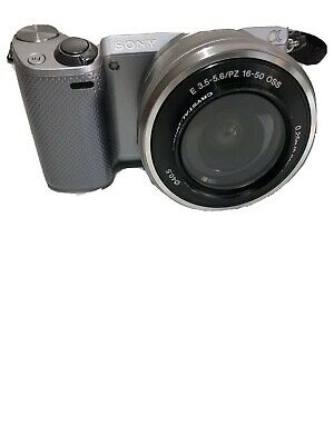 Sony Alpha NEX-5T 16.1MP Digital Camera - Silver With Flash Mirrorless Sys. (Sony Alpha Nex 5t Mirrorless Digital Camera)