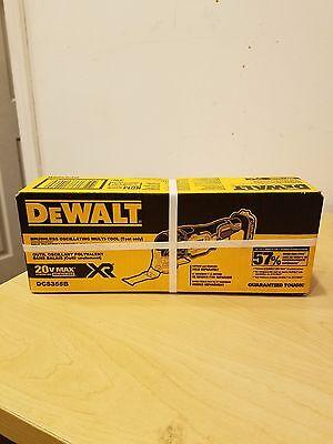 Dewalt DCS355B 20-Volt Max Brushless Oscillating Multi-Tool Bare Tool Only