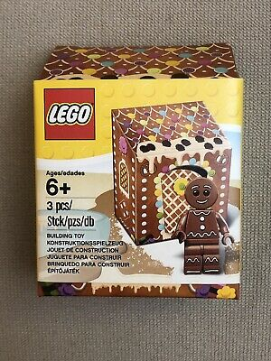 NEW Sealed Retired Lego 5005156 Christmas Mini Figure Gingerbread Man