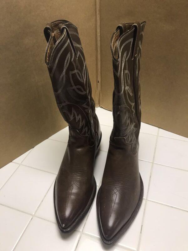 Vintage Justin Cowboy Boots 7