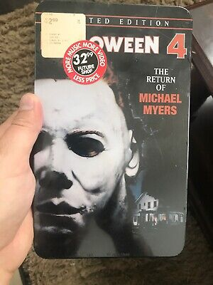 halloween 4 dvd The Return Of Michael Myers Limited Edition Tin Brand New