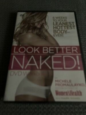 LOOK BETTER NAKED WORKOUT DVD NEW SEALED FREE MEDIA