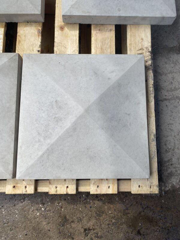 %E2%80%A2New%E2%80%A2+Smooth+Concrete+Pier+%2F+Pillar+Cap+Stone+18%E2%80%9Dx18%E2%80%9D